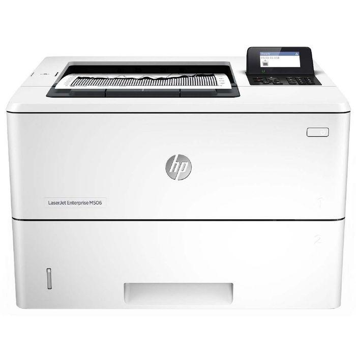 Принтер лазерный черно-белый HP LaserJet Enterprise M506dn (F2A69A), А4, Duplex