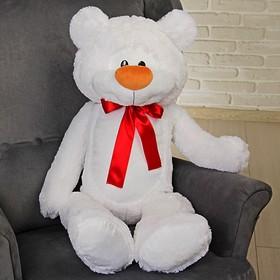 Мягкая игрушка «Медведь Брэд большой», 110 см, цвет белый