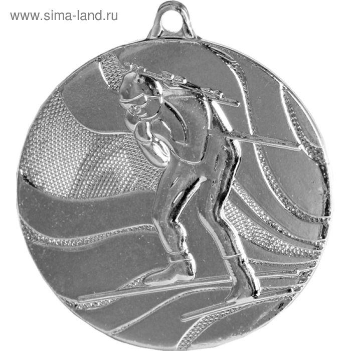 Медаль Биатлон MMC4750/S, d=50 мм
