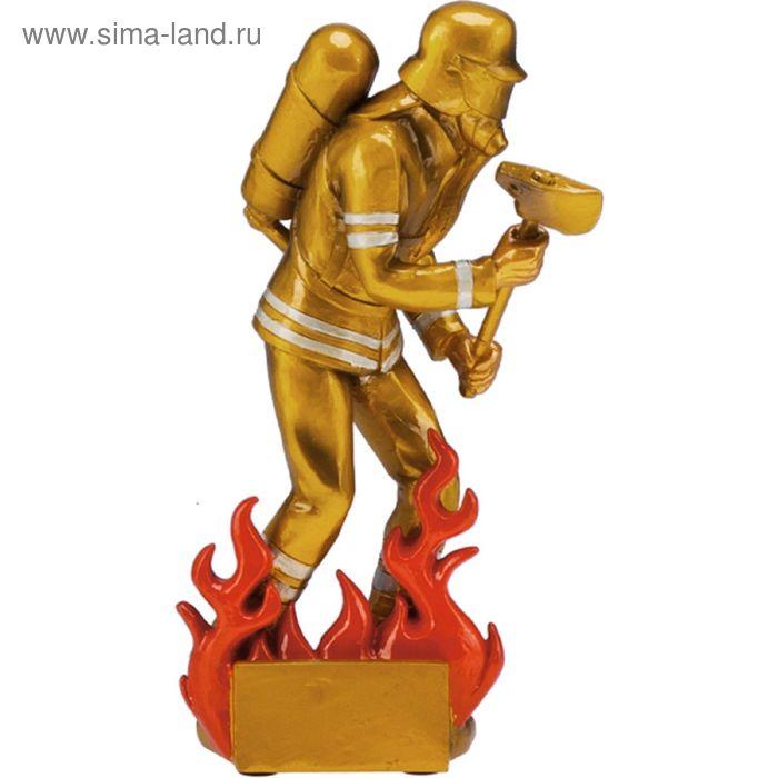 Фигурка литая Пожарный RF6001/G, h=19 см