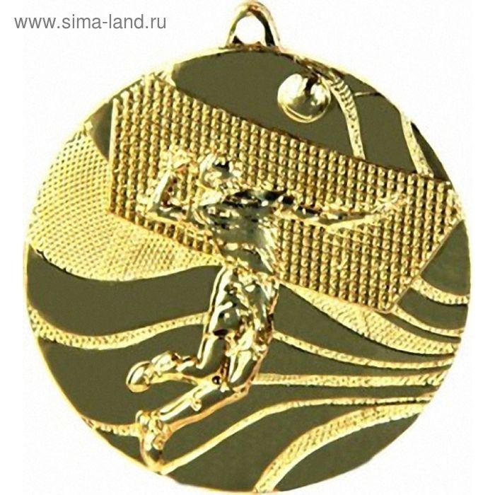 Медаль Волейбол MMC2250/G, d=50 мм
