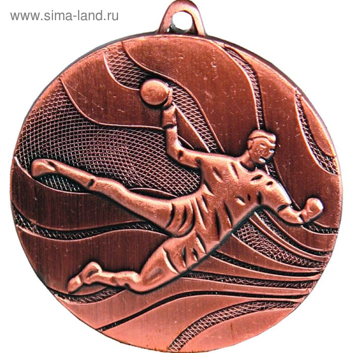 Медаль Гандбол MMC3750/B, d=50 мм
