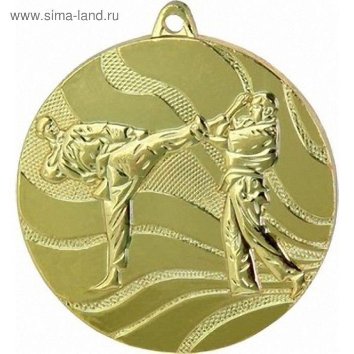 Медаль Карате MMC2550/G, d=50 мм