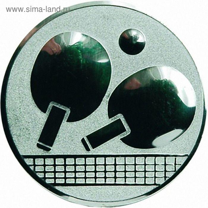 Жетон Теннис настольный d=25 мм, A46/S