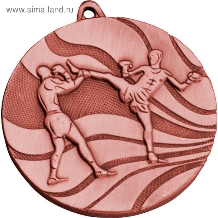 Медаль Кикбоксинг MMC5250/B, d=50 мм