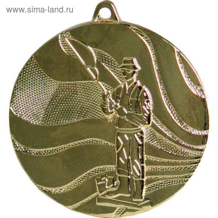 Медаль Рыболов MMC3850/G, d=50 мм