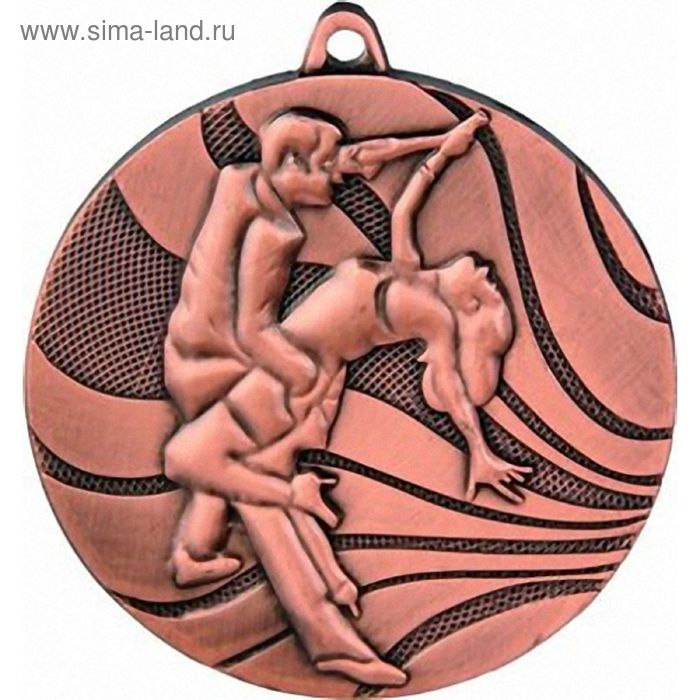 Медаль Танцы спортивные MMC2950/B, d=50 мм