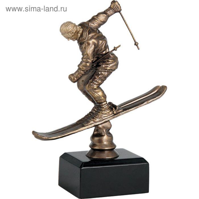 Фигурка литая Лыжный спорт TPFR1852/BR, h=16.5 см