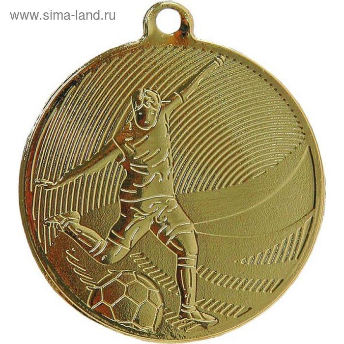 Медаль Футбол MD12904/G, d=50 мм