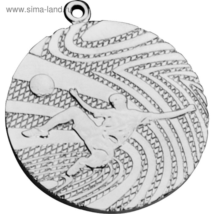 Медаль Футбол MMC1240/S, d=40 мм