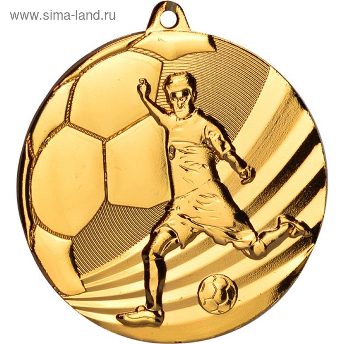 Медаль Футбол MMC5055/G, d=50 мм