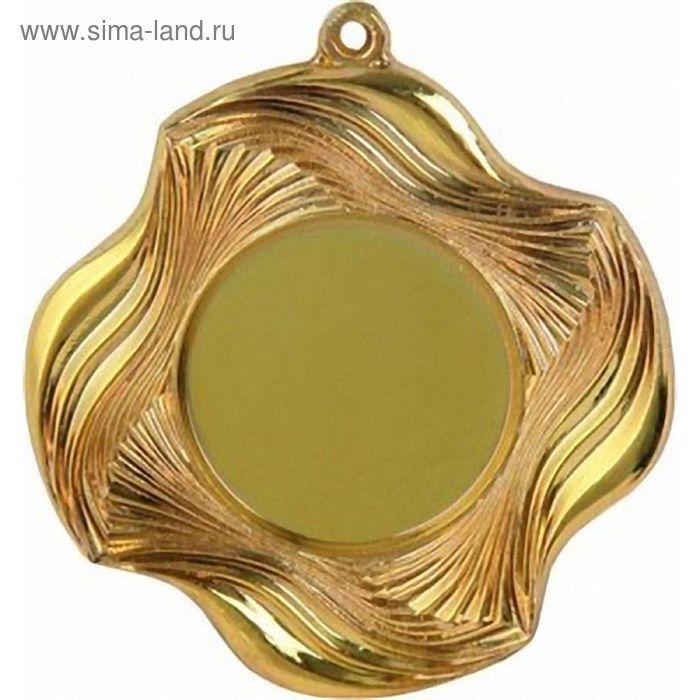 Медаль MD1350/G, d=50 мм, место под эмблему 25 мм