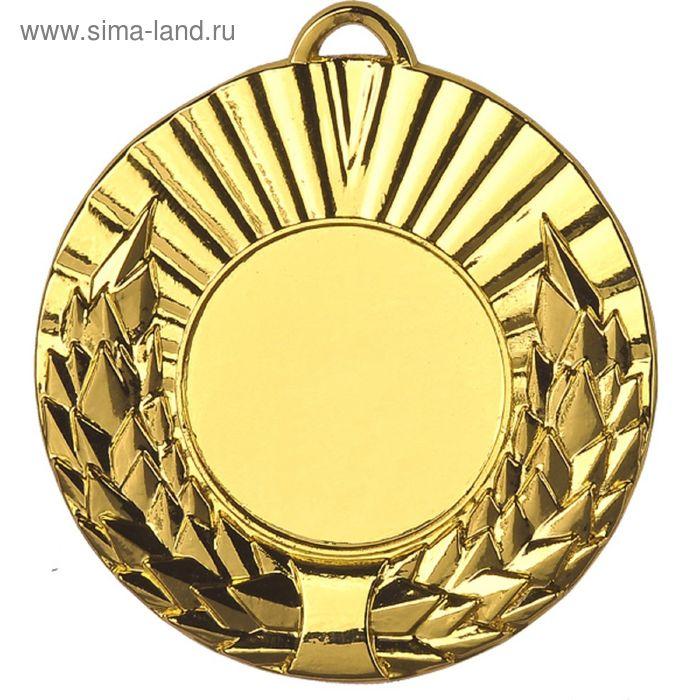 Медаль MD2050/G, d=50 мм, место под эмблему 25 мм