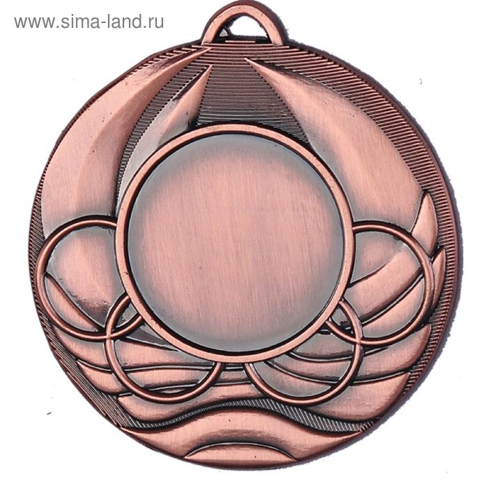 Медаль MD2250/B, d=50 мм, место под эмблему 25 мм