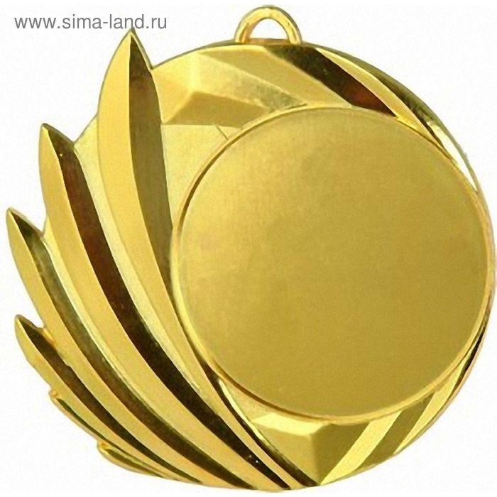 Медаль MD4070/G, d=80 мм, место под эмблему 50 мм