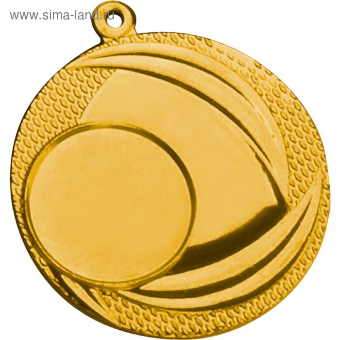 Медаль MMC9040/G, d=40 мм, место под эмблему 25 мм