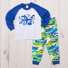 Пижама для мальчика AZ- 305, рост 80-86 (1,6 лет), цвета МИКС