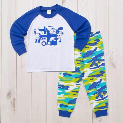 Пижама для мальчика, рост 80-86 (1,6 лет), цвета МИКС