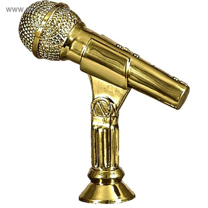 Фигурка пластиковая Микрофон h=7 см, F174/G