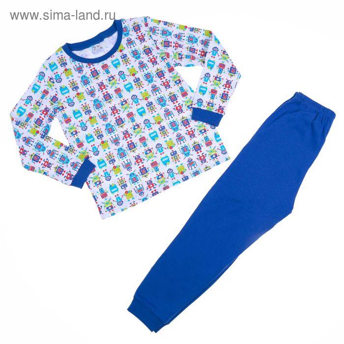 Пижама для мальчика AZ- 305, рост 110-116 (5 лет), цвета МИКС
