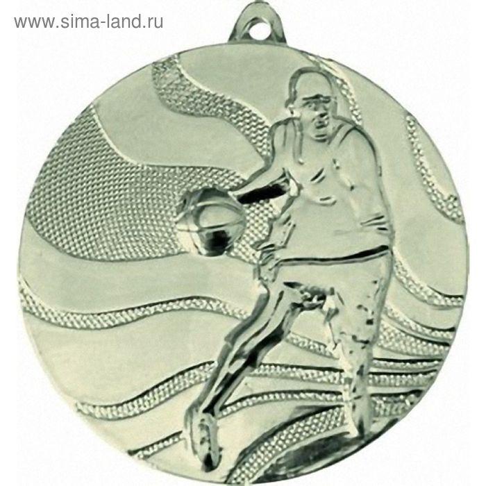 Медаль Баскетбол MMC2150/S, d=50 мм