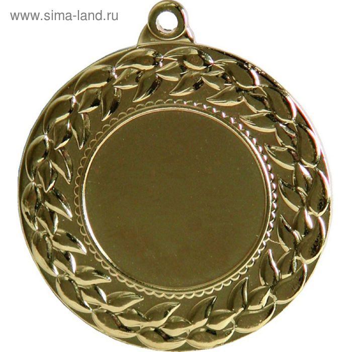 Медаль MMC3045/G, d=45 мм, место под эмблему 25 мм