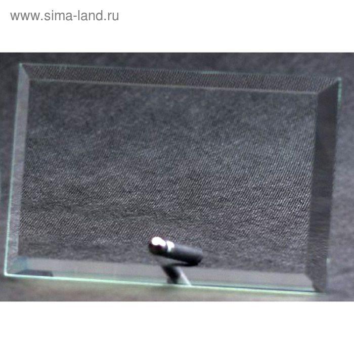 Награда хрустальная 160х250х10 мм, M52A