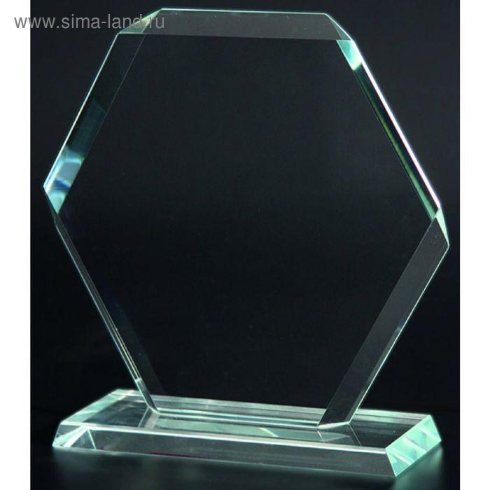 Награда стеклянная 230*230 мм, M58A