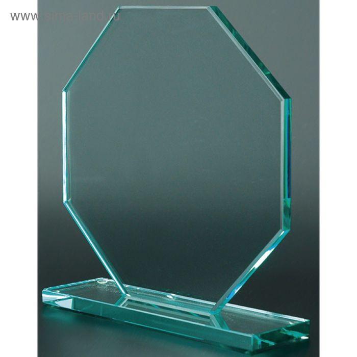 Награда стеклянная 80013, 200х200х10 мм