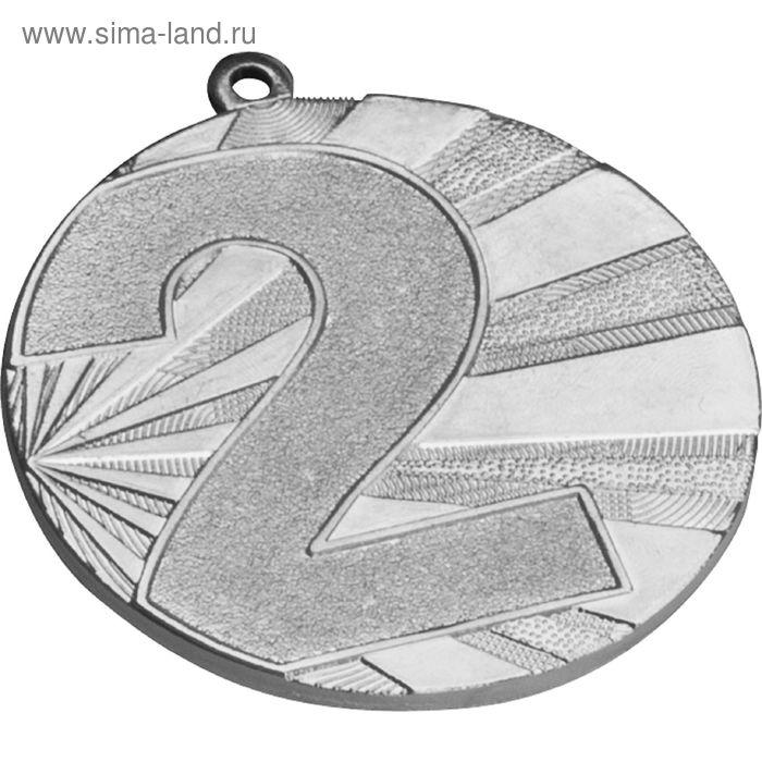 Медаль 2 место MMC7071/S, d=70 мм, толщина 3 мм