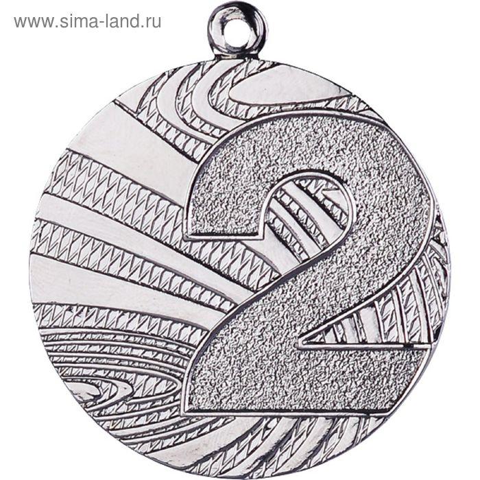 Медаль 2 место MMC6040/S, d=40 мм, толщина 2 мм