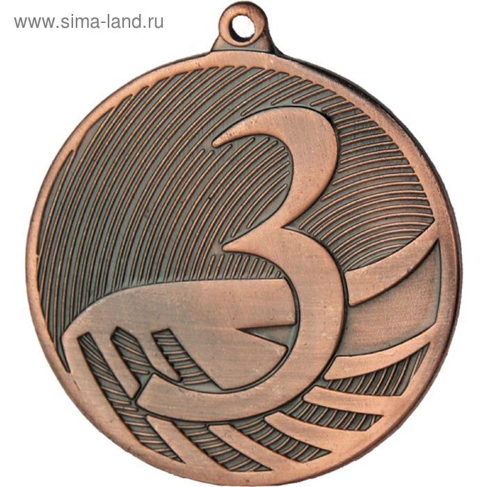 Медаль 3 место MD1293/B, d=50 мм, толщина 2.5 мм
