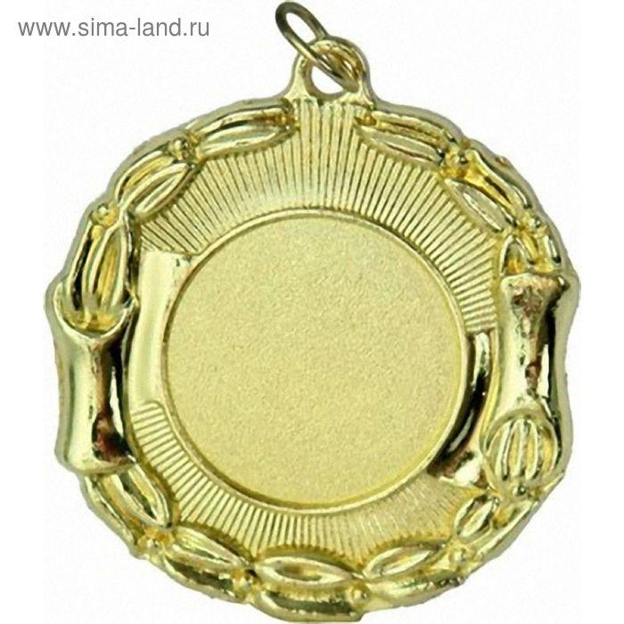 Медаль MD013/G, d=45 мм, место под эмблему 25 мм
