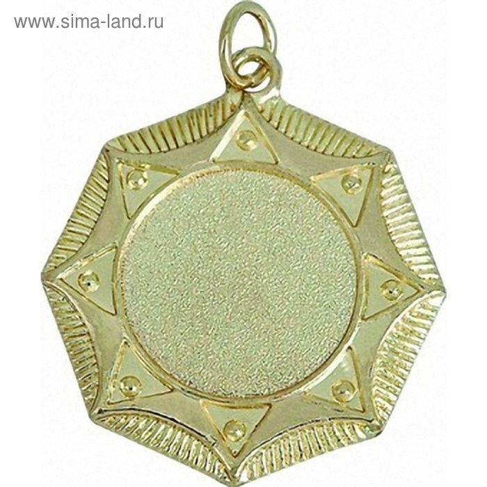 Медаль MD021/G, d=45 мм, место под эмблему 25 мм