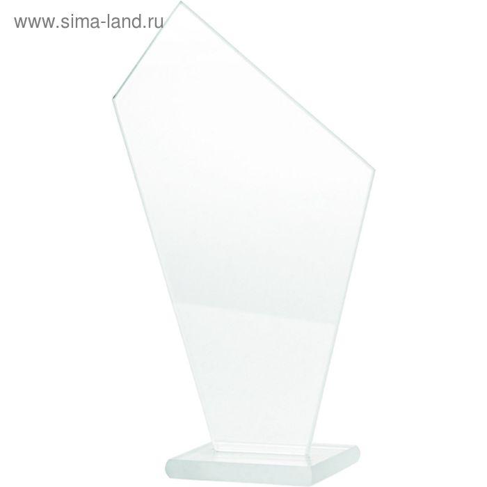 Награда стеклянная h=16.5 см, M64C/FP