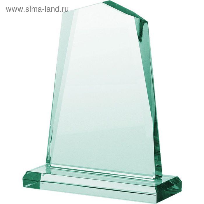 Награда хрустальная h=22 см, футляр в комплекте G033B