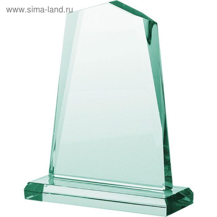 Награда хрустальная h=22 см, футляр в комплекте G033B/FP