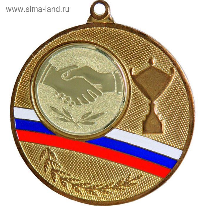 Медаль MMC1550/G, d=50 мм, место под эмблему 25 мм
