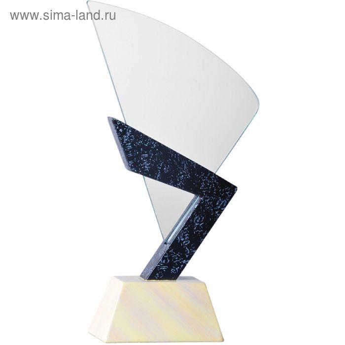 Награда хрустальная h=26 см, GR001-26