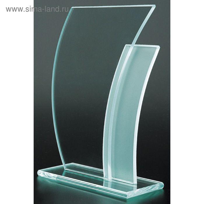 Награда стеклянная 210*155 мм, M43B