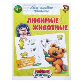 Обучающая книга «Любимые животные», 16 стр.