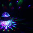 Лампа хрустальный шар диаметр 9 см. двухсторонняя, V220, цоколь Е27