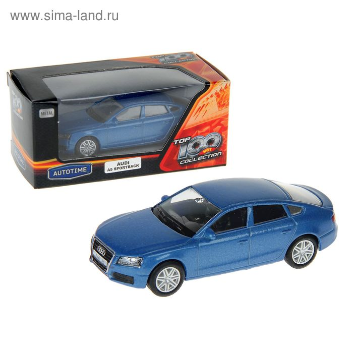 "Машина металлическая ""Audi A5 Sportback"" 3'' цвета микс34232"