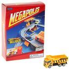 Набор MEGAPOLIS, стройплощадка c машиной, 1:60