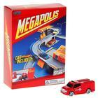 Игровой набор MEGAPOLIS, с машинкой, масштаб 1:60, МИКС