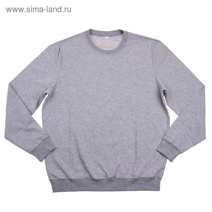 Толстовка мужская MF08-008 меланж, р-р 48