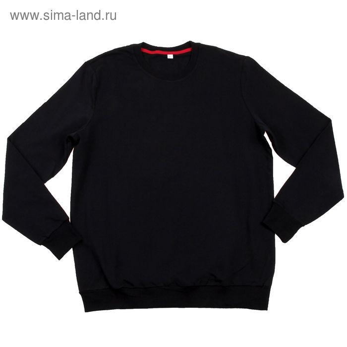Толстовка мужская MF08-008 чёрный, р-р 54