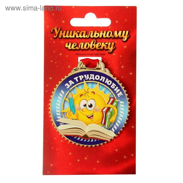 """Медаль """"За трудолюбие"""", 7 см"""