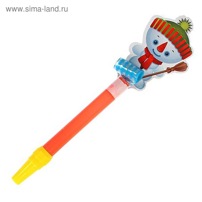 """Карнавальный язычок """"Снеговик"""", цвета МИКС"""
