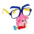 Карнавальные очки «Собачка», с носом и язычком, цвета МИКС